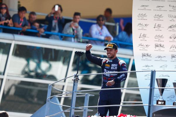 Autodromo Nazionale di Monza, Italy. Sunday 3 September 2017 Luca Ghiotto (ITA, RUSSIAN TIME).  Photo: Mauger/FIAFormula 2 ref: Digital Image _W6I4926
