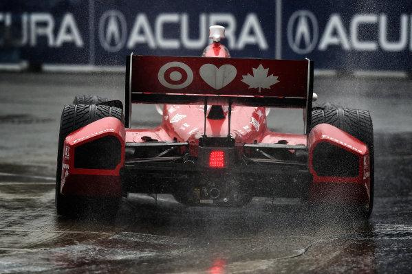 20 July, 2014, Toronto, Ontario CA Scott Dixon in the rain ?2014, Scott R LePage  LAT Photo USA