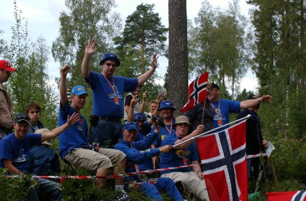 Norwegian fans saw Petter Solberg (NOR), Subaru, finish second.