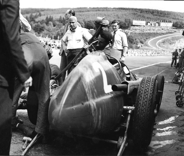 Spa-Francorchamps, Belgium. 15-17 July 1951.