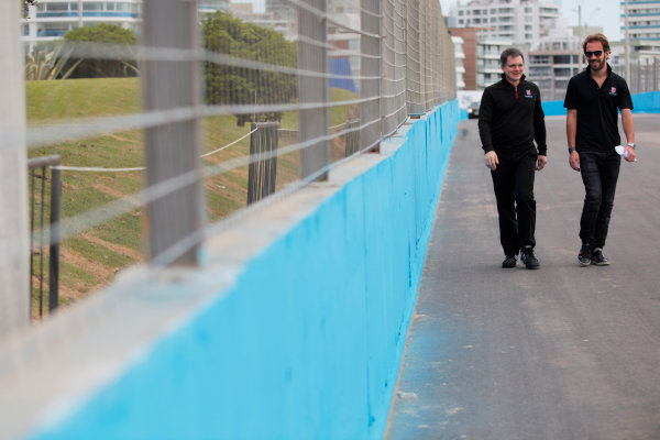 2014 FIA Formula E Championship. Punta del Este ePrix, Uruguay. Jean-Eric Vergne (FRA)/Andretti Motorsport - Spark-Renault SRT_01E. Photo: Zak Mauger/LAT/FE ref: Digital Image _MG_1293