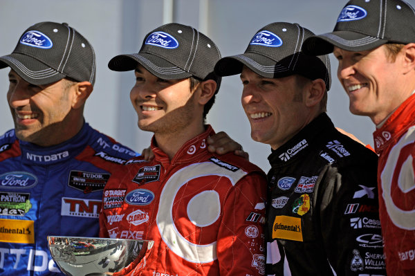 22-25 January, 2015, Daytona Beach, Florida USA Winners 02, Ford EcoBoost, Riley DP, P, Tony Kanaan, Kyle Larson, Jamie McMurray,Scott Dixon,  ?2015, F. Peirce Williams LAT Photo USA