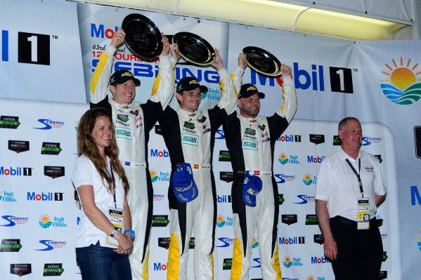 19-21 March, 2015, Sebring, Florida USA 3, Chevrolet, Corvette C7.R, GTLM, Jan Magnussen, Antonio Garcia, Ryan Briscoe ©2015, Richard Dole LAT Photo USA
