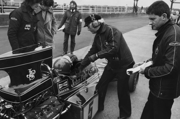 Silverstone, England. 12-14 July 1973.