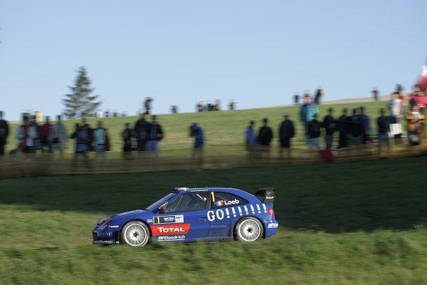 2006 FIA World Rally Champs. Round elevenDeutschland Rally.9th- 13th August 2006.Sebastien Loeb, Citroen, action.World Copyright: McKlein/LAT