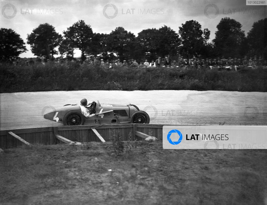 1927 French Grand Prix.Montlhery, France. 3 July 1927Albert Divo, Talbot T700, retired, action.World Copyright: LAT PhotographicRef: A8132