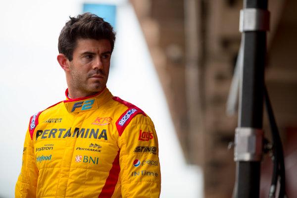Circuit de Barcelona Catalunya, Barcelona, Spain. Monday 13 March 2017. Norman Nato (FRA, Pertamina Arden). Photo: Alastair Staley/FIA Formula 2 ref: Digital Image 580A9100