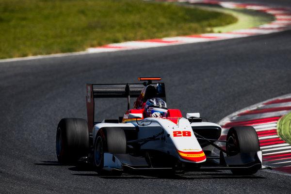 2016 GP3 Series Test 2. Circuit de Catalunya, Barcelona, Spain. Thursday 20 April 2017. Marcos Siebert (ARG, Campos Racing)  Photo: Zak Mauger/GP3 Series Media Service. ref: Digital Image _56I5485
