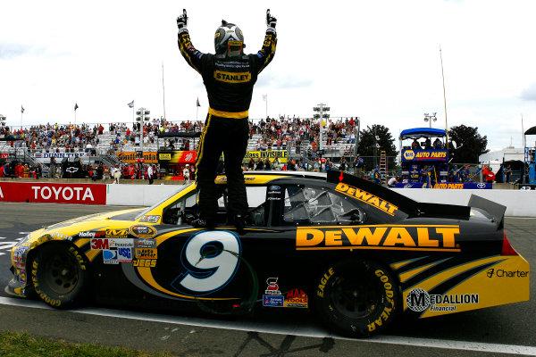10-12 August, 2012, Watkins Glen, New York USAMarcos Ambrose celebrates his win(c)2012, LAT SouthLAT Photo USA