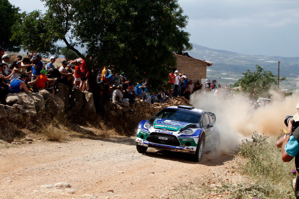 Round 06 - Rally Acropolis Greece 24-27 May 2012. Petter Solberg, Ford WRC, Action.  Worldwide Copyright: McKlein/LAT
