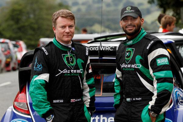Round 10- Wales Rally GB 12-16/9- 2012.Michael Orr, Yazeed Al Rajhi, Ford S2000, PortraitWorldwide Copyright: McKlein/LAT