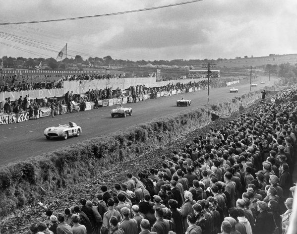 Dundrod, Great Britain. 17th September 1955.
