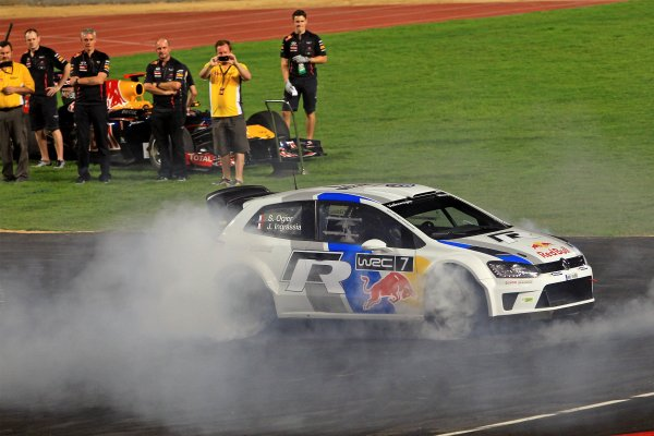 Rajamangala Stadium, Bangkok, Thailand 13th - 16th December 2012 Sebastien Ogier exclusively unveils the new-for-20 World Copyright: IMP (USAGE FREE FOR EDITORIAL PURPOSES ONLY)