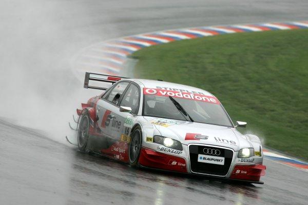 2006 DTM Championship.Round 2, Eurospeedway Lausitzring. 28th - 30th April 2006.Frank Stippler (GER), Audi Sport Team Rosberg, Audi A4 DTMWorld Copyright: Miltenburg/xpb cc/LATref: Digital Image Only