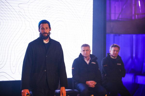 David De Rothschild, Chief Explorer, Extreme E with Gil De Ferran, CEO of Extreme E and Alejandro Agag, CEO, Formula E