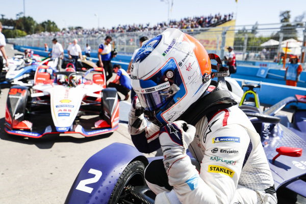 Sam Bird (GBR), Envision Virgin Racing, Audi e-tron FE05, wins the ePrix