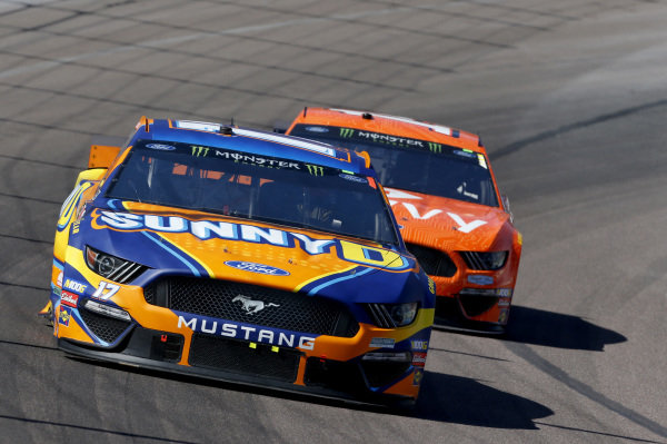 #17: Ricky Stenhouse Jr., Roush Fenway Racing, Ford Mustang SunnyD