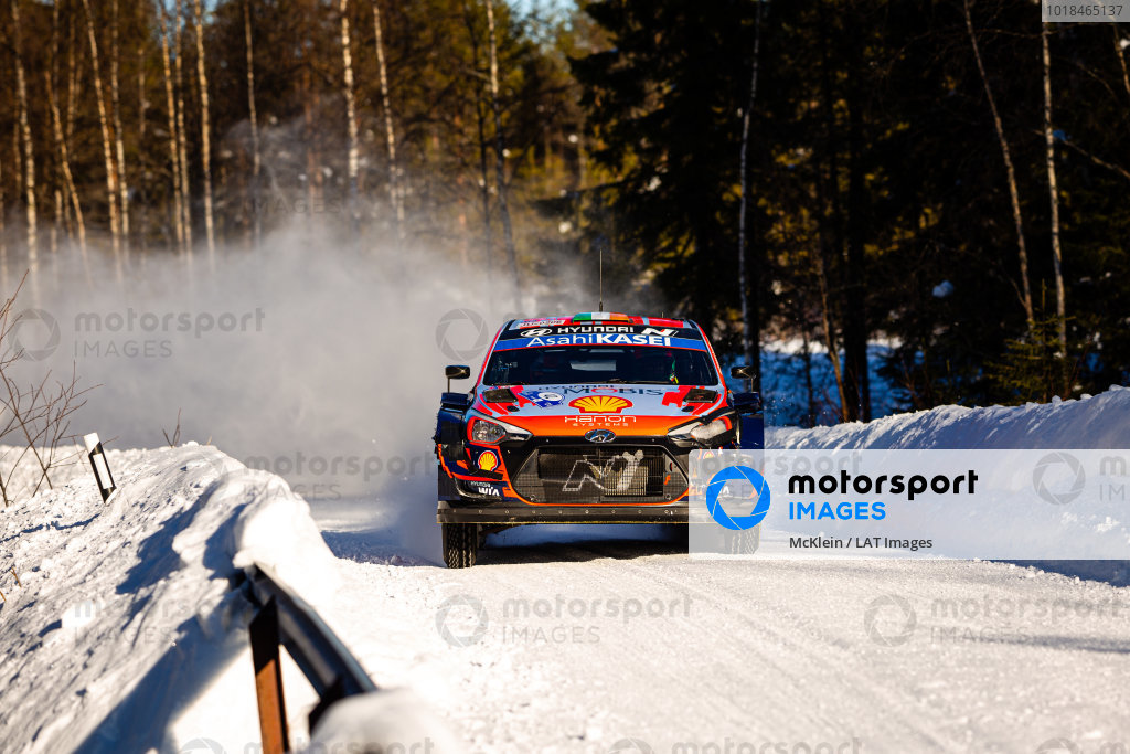 Craig Breen (IRE), Hyundai World Rally Team, Hyundai i20 Coupe WRC 2021