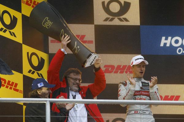 Champion ship Podium: Manufacturer winner Hans-Joachim Rothenpieler, Member of the board, Audi AG.