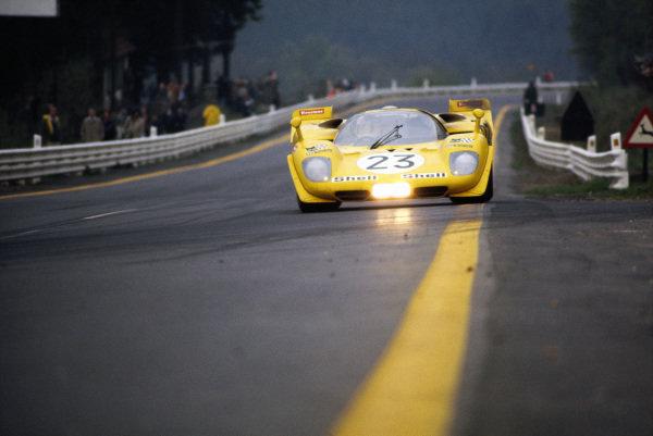 Derek Bell / Hughes de Fierlant, Ecurie Francorchamps, Ferrari 512 S 1030.