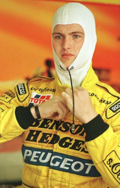 1997 San Marino Grand Prix.Imola, Italy.25-27 April 1997.Ralf Schumacher (Jordan Peugeot).World Copyright - LAT Photographic
