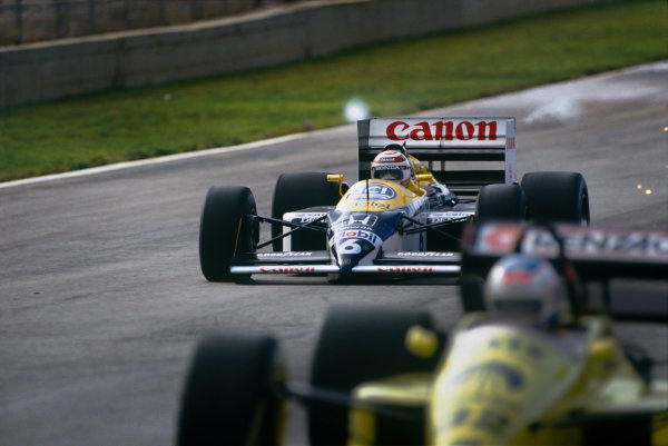 Jerez, Spain. 25th - 27th September 1987.