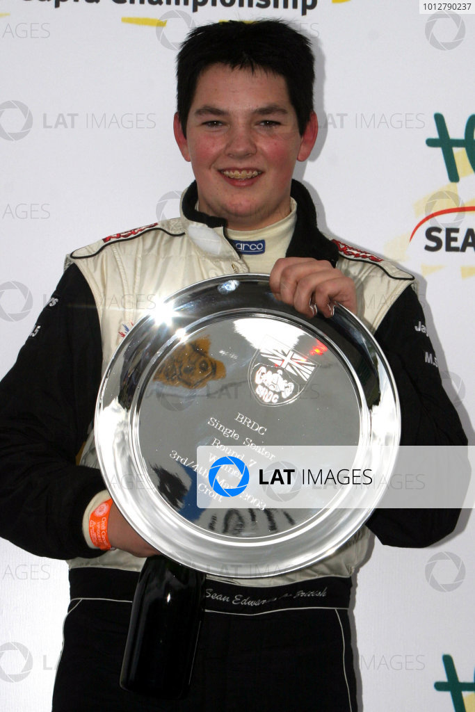 2003 BRDC Single Seaters. Croft 3rd May. Sean Edwards wins. World Copyright - Terry/Ebrey/LAT Photographic.