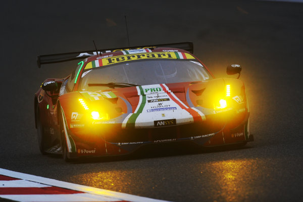 2017 FIA World Endurance Championship, Shanghai, China. 3rd-5th November 2017, #51 AF Corse Ferrari 488 GTE: James Calado, Alessandro Pier Guidi,   World Copyright. JEP/LAT Images