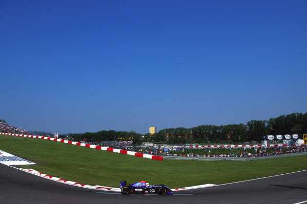 Roland Ratzenberger (AUT) Simtek S941 was tragically killed in a crash during the Saturday qualifying session. Formula One World Championship, Rd 3, San Marino Grand Prix, San Marino, Italy, 29 April - 1 May 1994.