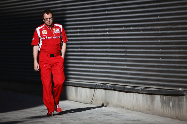 Stefano Domenicali (ITA) Ferrari General Director. Formula One World Championship, Rd 8, European Grand Prix, Qualifying Day, Valencia, Spain, Saturday 25 June 2011.
