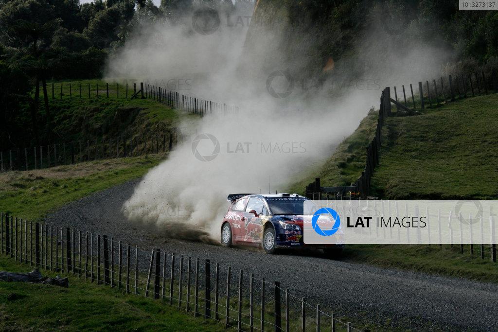 Rally New Zealand, 28th - 31st  August   2008World Copyright: McKlein/LATSebastien Loeb, Citroen, action