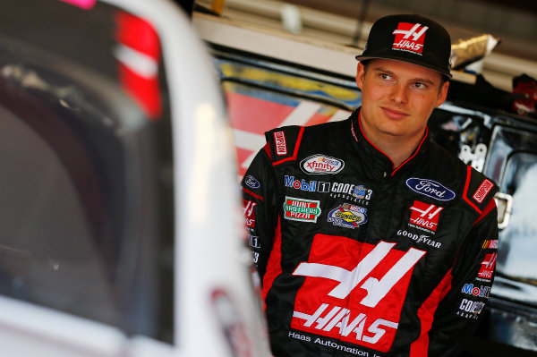 NASCAR XFINITY Series American Ethanol E15 250 presented by Enogen Iowa Speedway, Newton, IA USA Friday 23 June 2017 Cole Custer, Haas Automation Ford Mustang World Copyright: Brett Moist LAT Images
