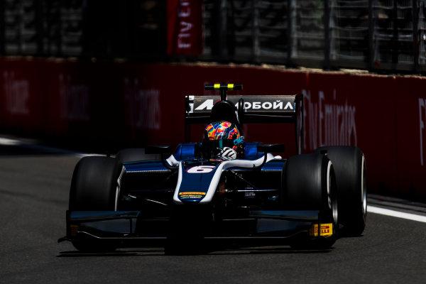 2017 FIA Formula 2 Round 4. Baku City Circuit, Baku, Azerbaijan. Friday 23 June 2017. Artem Markelov (RUS, RUSSIAN TIME)  Photo: Zak Mauger/FIA Formula 2. ref: Digital Image _54I9832