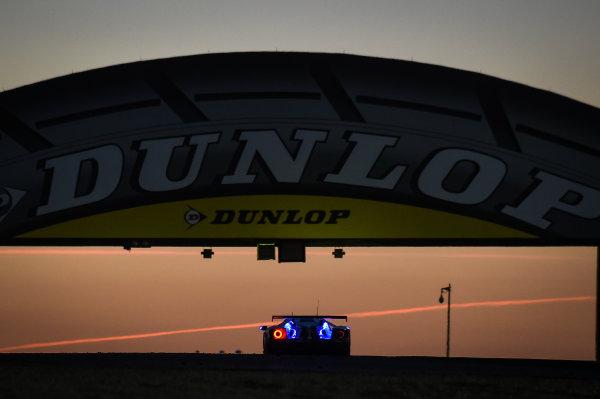 2017 Le Mans 24 Hours Circuit de la Sarthe, Le Mans, France. Sunday 18 June 2017 #67 Ford Chip Ganassi Racing Ford GT: Andy Priaulx, Harry Tincknell, Pipo Derani World Copyright: Rainier Ehrhardt/LAT Image ref: Digital Image DSC_4621