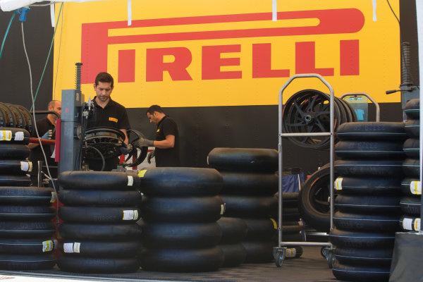 2017 Superbike World Championship - Round 8 Laguna Seca, USA. Friday 7 July 2017 Pirelli tyres World Copyright: Gold and Goose/LAT Images ref: Digital Image 682930