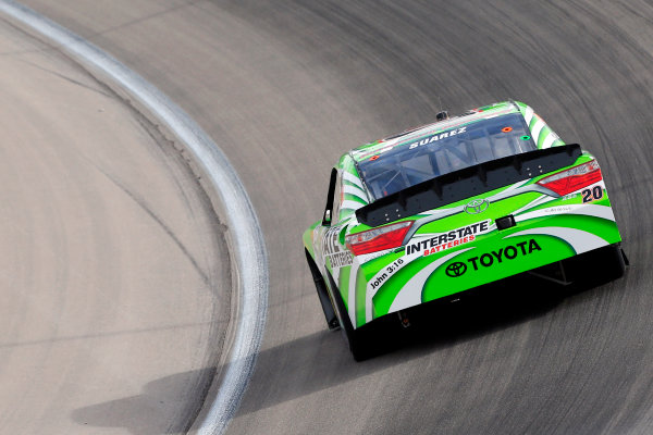 2017 NASCAR Xfinity Series - Boyd Gaming 300 Las Vegas Motor Speedway - Las Vegas, NV USA Friday 10 March 2017 Daniel Suarez, Interstate Batteries Toyota Camry World Copyright: Russell LaBounty/LAT Images ref: Digital Image 17LAS1rl_1117
