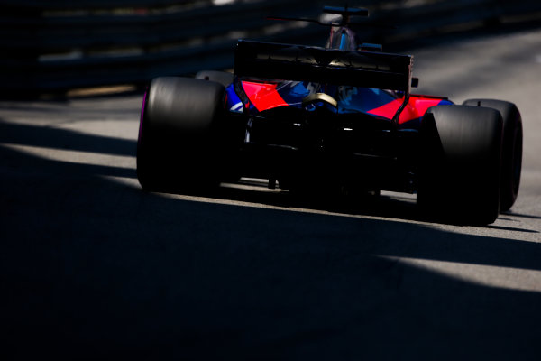 Monte Carlo, Monaco. Saturday 27 May 2017. Daniil Kvyat, Toro Roso STR12 Renault. World Copyright: Charles Coates/LAT Images ref: Digital Image AN7T7314