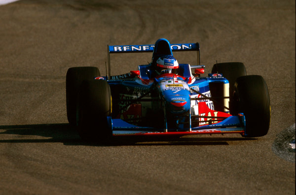 Hockenheim, Germany.25-27 July 1997.Jean Alesi (Benetton B197 Renault) 6th position.Ref-97 GER 16.World Copyright - LAT Photographic