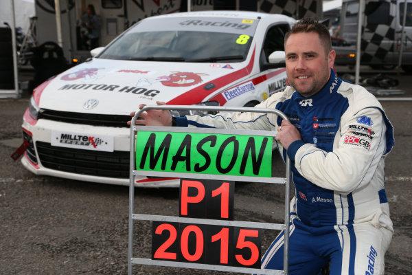 2015 Volkswagen Cup,  Donington Park, 12th-13th September 2015, Aaron Mason  World Copyright. Jakob Ebrey/LAT Photographic