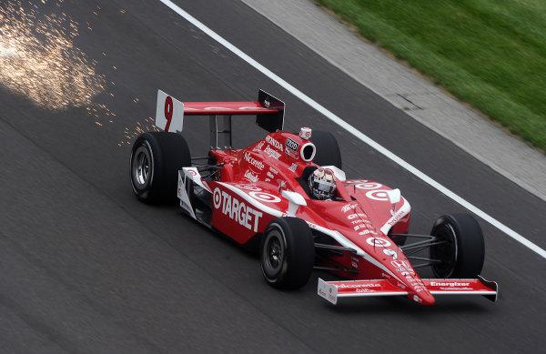 15-21 MAY, 2010, Indianapolis, Indiana, USA #10 Target Chip Ganassi Racing's Dario Franchitti. ©Dan R. Boyd, USA LAT Photographic