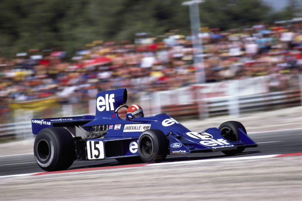 Jean-Pierre Jabouille, Tyrrell 007 Ford.