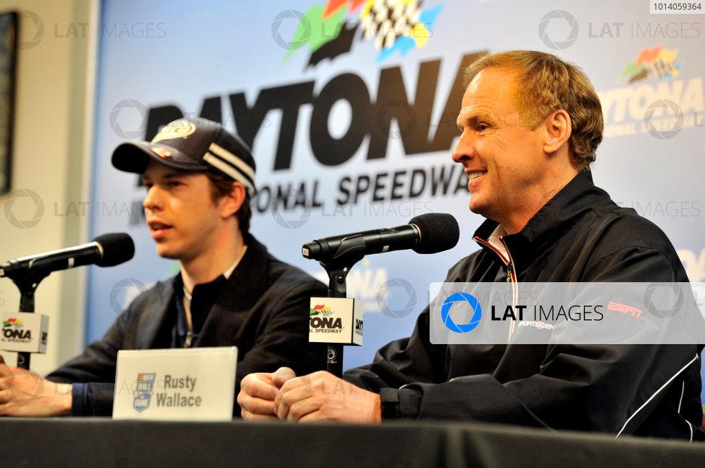 9 10 January 2017 Daytona Beach Florida Usa Brad Keselowski And Rusty