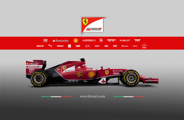 Ferrari F14 T Online Launch Images 25 January 2014 Photo: Ferrari (Copyright Free FOR EDITORIAL USE ONLY) ref: Digital Image 140003eve