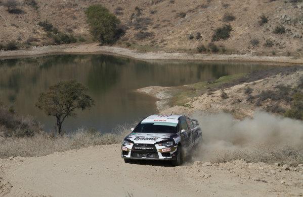 Round 03, Rally Mexico8th -11th March 2012Mikhael Kosciuskzo, Mitsubishi, ActionWorldwide Copyright: McKlein/LAT