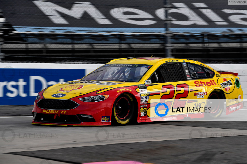 Monster Energy NASCAR Cup Series First Data 500 Martinsville Speedway, Martinsville VA USA Sunday 29 October 2017 Joey Logano, Team Penske, Shell-Pennzoil Ford Fusion World Copyright: Rusty Jarrett LAT Images