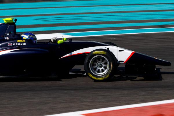 2017 GP3 Series Test 5. Yas Marina Circuit, Abu Dhabi, United Arab Emirates. Thursday 30 November 2017. Will Palmer (GBR, Arden International). Photo: Joe Portlock/GP3 Series Media Service. ref: Digital Image _R3I7661