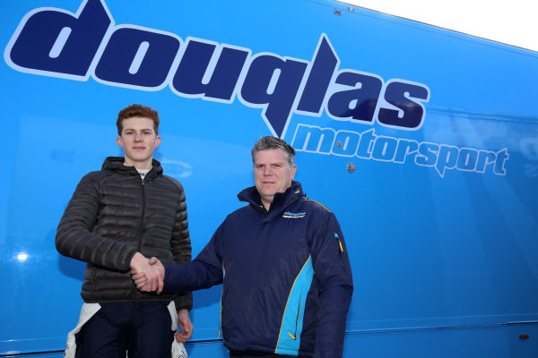 Ulysse De Pauw and Wayne Douglas