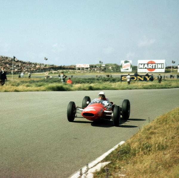 Zandvoort, Holland.21-23 May 1963.Phil Hill (ATS 100).Ref-3/0968.World Copyright - LAT Photographic