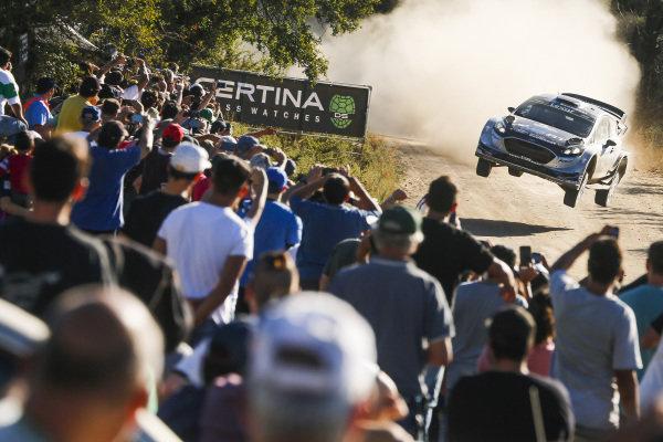 Ott Tanak (EST) / Martin Jarveoja (EST), M-Sport World Rally Team Ford Fiesta WRC at World Rally Championship, Rd5, Rally Argentina, Day Two, Villa Carlos Paz, Cordoba, Argentina, 29 April 2017.