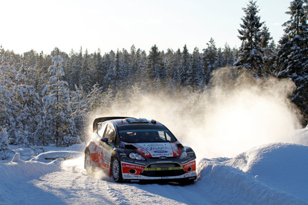 Round 02 - Rally Sweden 09-12 February 2012. Martin Prokop, Ford WRC, Action.  Worldwide Copyright: McKlein/LAT